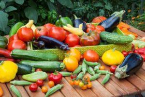 Овощи для печени